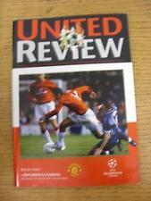 17/10/2001 Manchester United v Deportivo la Coruña []. el artículo en la Liga de Campeones