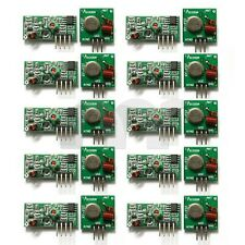10x 433Mhz RF Transmitter Module and Receiver Link Kit for Arduino ARM MCU WL