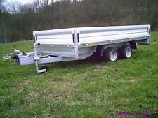 Pkw- Anhänger 3500 kg Tandem- Hochlader Niederfahrwerk Pongratz PHL 3100/17 T-AL