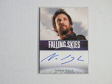 Falling Skies NOAH WYLE Tom Mason (AKI The Librarian)  AUTOGRAPH CARD