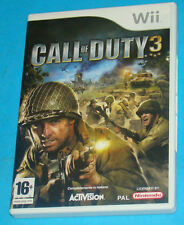 Call of Duty 3 - Nintendo WII - PAL