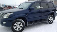 For Toyota Land Cruiser Prado 2003-2008 Window Visors Sun Guard Vent Deflectors