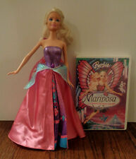 "2012 Mattel 12"" doll -- Mariposa & the Fairy Princess Barbie -- Catania with DVD"
