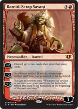 DARETTI, SCRAP SAVANT Commander 2014 MTG Red Planeswalker Mythic Rare