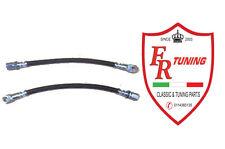 COPPIA TUBI FRENO FLESSIBILI ANTERIORI FIAT 500 F/L/R