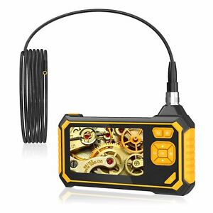 Industrial Endoscope Camera 1080P 4.3'' Screen Borescope Inspection Camera V6A3