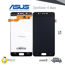 "DISPLAY LCD +TOUCH SCREEN ASUS ZENFONE 4 MAX ZC520KL VETRO NERO 5.2"" X00HD AAA+"