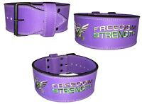 Freedomstrength® ladies power lifting weight lifting belt IPF
