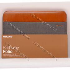 "Incase Pathway Folio Sleeve Case For MacBook Pro 13"" Gabardine Gray/Brown"
