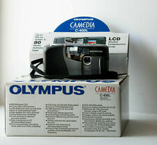 ✔️MINT RETRO CCD Digital Camera Olympus Camedia C-400L 0.3M with accesories, box