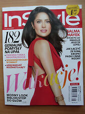 SALMA HAYEK on front cover Polish Magazine IN STYLE 8/2013