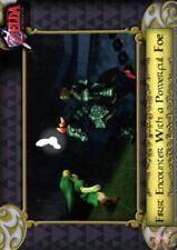 Legend of Zelda The 2016 Enterplay Trading Card 16 Link v Ganondorf Ocarina of T