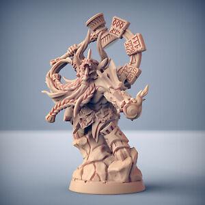 Dwarf Shaman Elementalist - Artisan Guild Fantasy Dungeons and Dragons Miniature