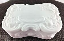 Ceramic Bisque Ready To Paint Trinket Box Unpainted U Paint