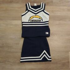 CHASSE Girls Los Angeles Chargers Full Cheer Outfit