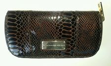 French Connection Uk Brown Snake Print Wallet Purse