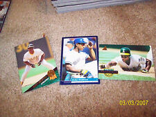 LOT OF  20 ASSORTED  MOSTLY DIFFERENT  RICKEY HENDERSON  CARDS