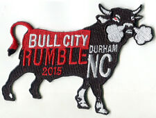 Bull City Rumble Motorcycle Patch BSA Triumph TonUp Cafe Racer Vincent Norton 59