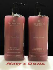 PECKSNIFF'S Lot of 2 CRANBERRY & WINTER CHERRY MOISTURISING HAND WASH 16.9 Each