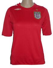 Umbro Inglaterra Camiseta [ Talla XS/34 ] rojo NUEVO Y EMB. orig.