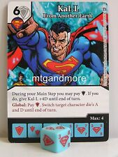 DC dice Masters - 2x #052 Kal-L from another Earth-World 's Finest