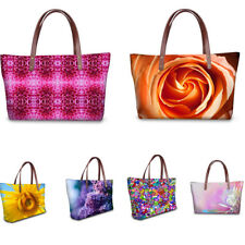 Ladies Large Purse Waterproof Handbags Womens Trendy Flowers Tote Shoulder Bags