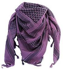 100% coton arabe Military SHEMAGH Foulard Keffieh Sniper visage voile violet