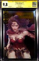 WONDER WOMAN #51 CGC SS 9.8 ARTGERM FOIL VARIANT SUPERMAN BATMAN JUSTICE LEAGUE