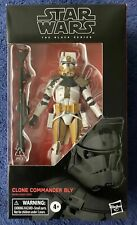 Star Wars Black Series Clone Wars 6 Inch Clone Commander Bly figure