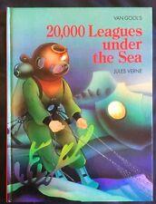 ILLUSTRATED Van Gool's 20,000 LEAGUES UNDER THE SEA - Jules Verne - LARGE HC