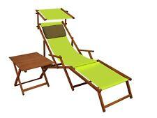 Lit Soleil Transat pour Jardin Toit Ouvrant Table Chaise Longue 10-306 S T Kd