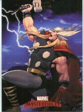 Marvel Masterpieces 2007 Base Card #86 Thor