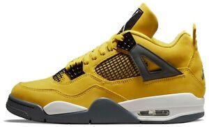 Air Jordan 4 Lightning Retro Tour Yellow White CT8527-700