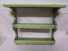 Gewürzregal Wandregal Holzregal 41 x 46,5 x 14,5 cm Holz 3 Böden rustikal  21951