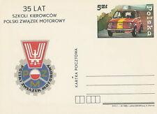Poland prepaid postcard (Cp 916) motorization