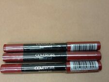 Lot of 3 Cover Girl Flamed Out Shadow Pencils Red Hot Flame