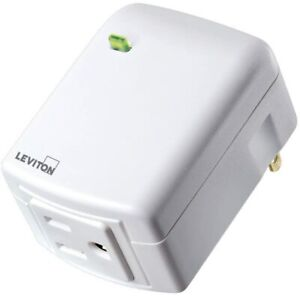 NEW - Leviton Plug-in-Outlet w/ Z-Wave Plus Technology - DZPA1 - FREE SHIPPING