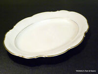 "HUTSCHENREUTHER china THE HAMILTON pattern ~ 12 5/8"" SERVING PLATTER"