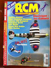RCM Magazine n°301 du 5/2006; Plan Encarté Gyronimo/ Electrique; les cahiers