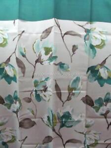 Floral Bathroom Shower Curtain ISABELLE Spring Garden Flowers Polyester 70 x 70
