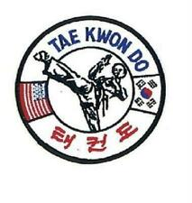 """Tae Kwon Do - Patch - 4"""" Martial Arts Gi"""