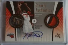 2006-07 EX Clearly Authentics Raymond Felton /25 Patch Auto