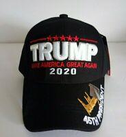 MAGA 2020 President Donald Trump Make America Great Again Black Cap