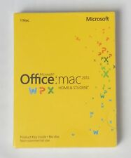 Microsoft Office MAC  2011 Home and Student - PKC -NEU-