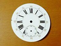 Esfera reloj de bolsillo esmalte 42.5mm pocket watch dial cod 01