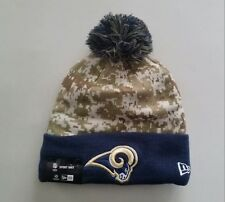 detailed look 9d752 7f296 LOS ANGELES RAMS 2015 New Era NFL Salute To Service Knit Hat Cap