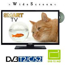 Telefunken D32H289N4CW Smart-TV mit DVD- Player 32 Zoll 81cm DVB-S2/C/T2 230Volt