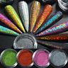 Holographics Nail Powder Glitter Chameleon Mirror Nail Chrome Gel Polish Decors