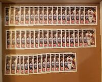 2020 Bowman Paper Xander Bogaerts #95 - 50 Card lot