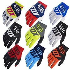Pop Men MTB Cycling Bicycle Bike Motorcycle Glove Offroad Full Finger FOX Gloves